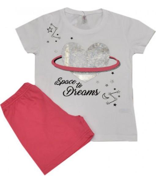 Πυτζάμα κορίτσι Dreams 201909