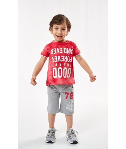 Σετ βερμούδα Hastag αγόρι 202837