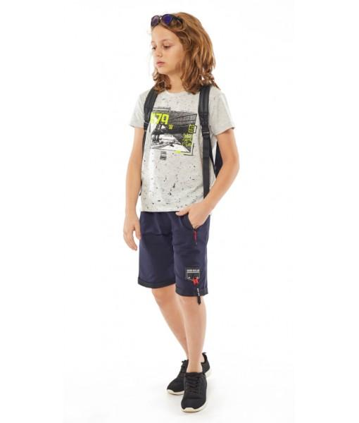Μπλούζα κοντομάνικη Hastag αγόρι 214730