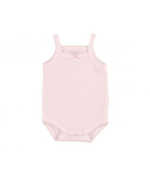 Κορμάκι τιράντες ροζ baby Mayoral κορίτσι 29-00168-071