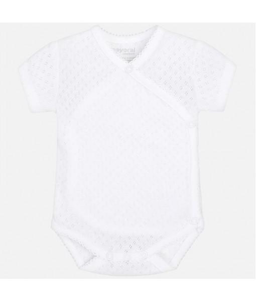 Κορμάκι κοντομάνικο Mayoral baby κορίτσι 29-00191-070