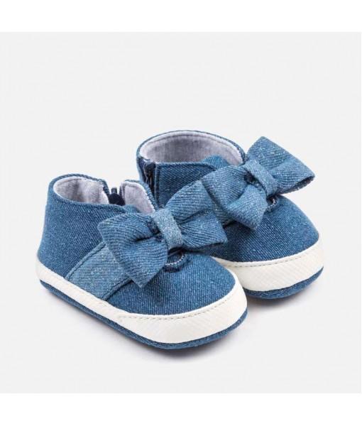 Παπούτσια αγκαλιάς τζιν Mayoral baby κορίτσι 29-09140-031