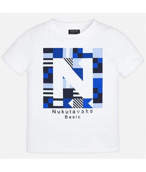 Μπλούζα βασική λογότυπο αγόρι M840060