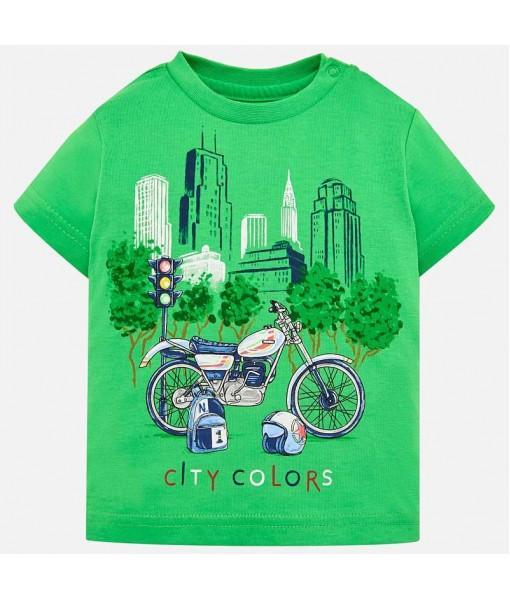 Μπλούζα κοντομάνικη Mayoral baby αγόρι 29-01020-037