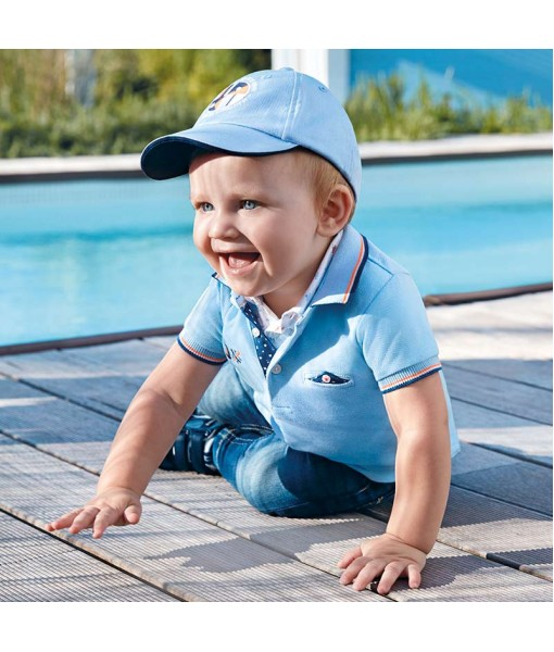 Πόλο κοντομάνικο σημαίες baby αγόρι M1117052