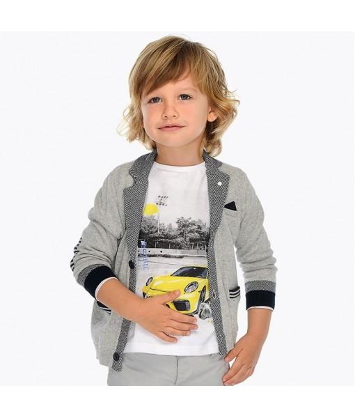 Σακάκι μακό αμπιγιέ αγόρι M3421054