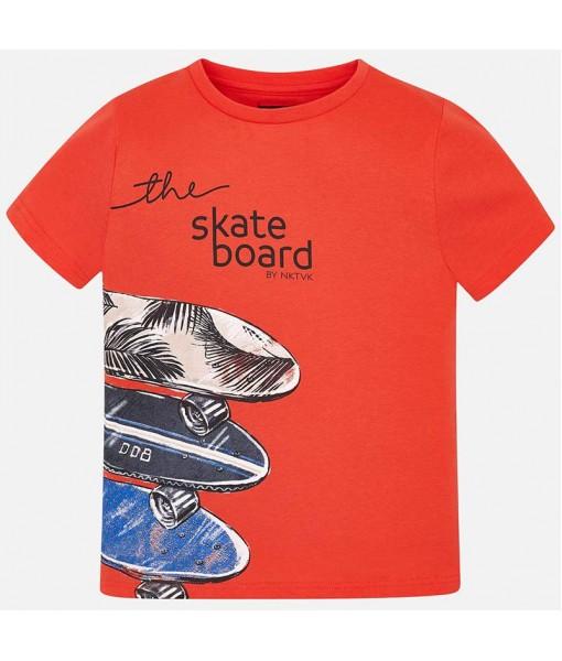 Μπλούζα κοντομάνικη skateboard αγόρι M6038096