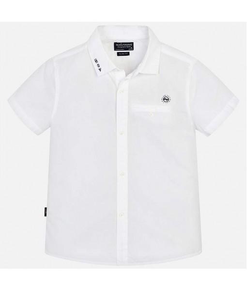 Πουκάμισο κοντομάνικο τσέπη Mayoral αγόρι 29-06124-014