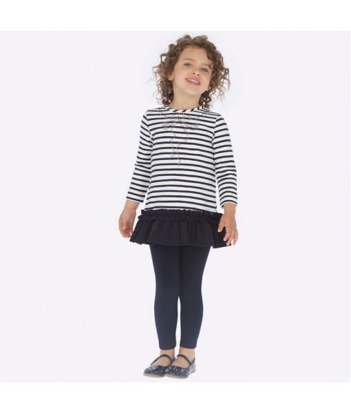 Κολάν βασικό Mayoral κορίτσι μπλε ναυτικό 19-00717-066