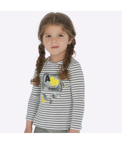 Μπλούζα μακρυμάνικη Mayoral κορίτσι 19-04014-061