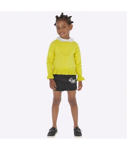 Φούστα τζιν Mayoral κορίτσι μαύρο 19-04911-068