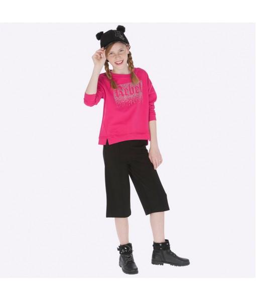 Παντελόνι ζιπ κιλότ Mayoral κορίτσι 19-07505-055