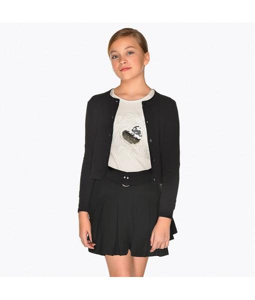 Φούστα παντελόνι Mayoral κορίτσι μαύρο 19-07914-040