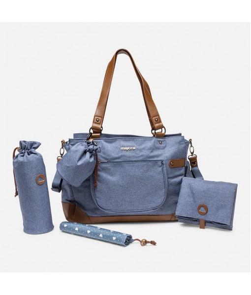 Τσάντα με αξεσουάρ unisex Mayoral μπλε 30-19862-033