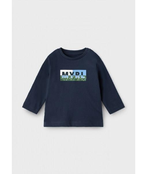 Μπλούζα ECOFRIENDS μακρυμάνικη basic Mayoral αγόρι 11-00108-049
