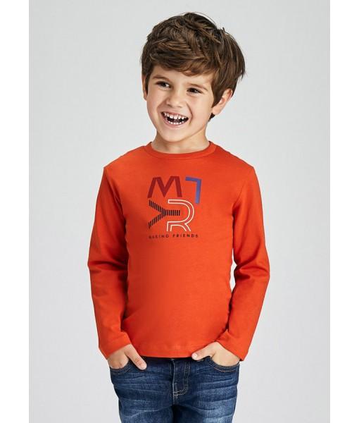 Μπλούζα ECOFRIENDS μακρυμάνικη basic Mayoral mini αγόρι 11-00173-076