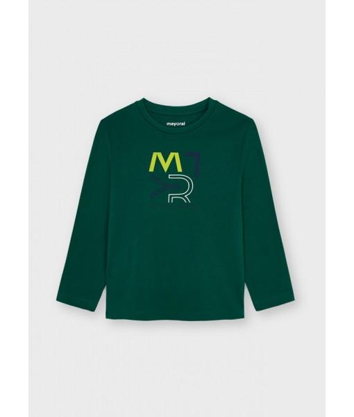 Μπλούζα ECOFRIENDS μακρυμάνικη basic Mayoral mini αγόρι 11-00173-078