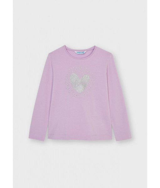 Μπλούζα ECOFRIENDS μακρυμάνικη basic Mayoral mini κορίτσι 11-00178-033
