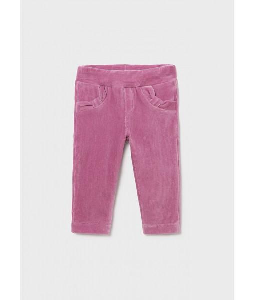 Παντελόνι μακρύ κοτλέ βασικό Mayoral baby κορίτσι 11-00514-042