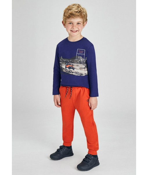 Παντελόνι φούτερ βασικό μακρύ Mayoral αγόρι 11-00725-010
