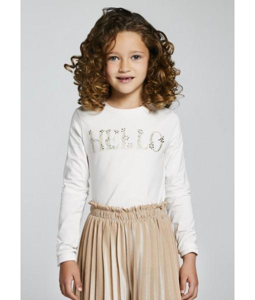 Μπλούζα Ecofriends Mayoral κορίτσι 11-00830-016