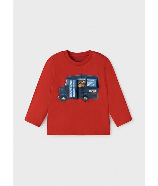 Μπλούζα PLAY WITH μακρυμάνικη Mayoral αγόρι 11-02065-045