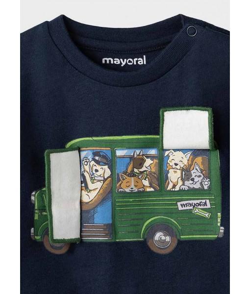 Μπλούζα PLAY WITH μακρυμάνικη Mayoral αγόρι 11-02065-047