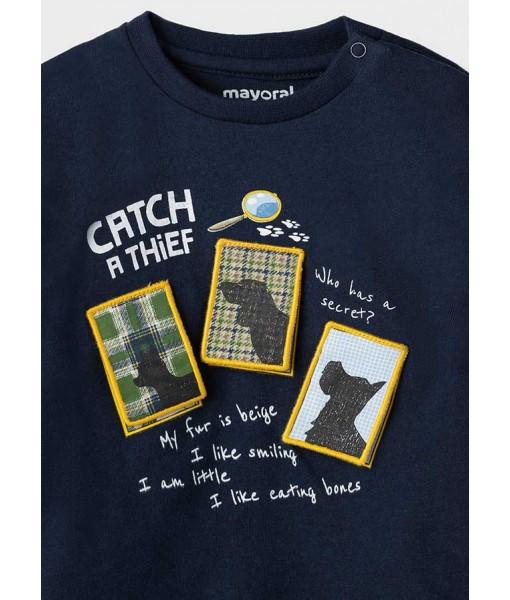Μπλούζα PLAY WITH μακρυμάνικη Mayoral αγόρι 11-02069-054