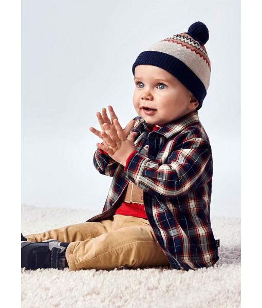 Πουκάμισο εξωτερικό ECOFRIENDS μακρυμάνικο Mayoral baby αγόρι 11-02144-002