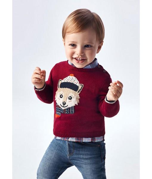 Πουλόβερ ζέρσεϊ Mayoral baby αγόρι 11-02377-026