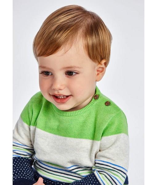 Πουλόβερ ζέρσεϊ Mayoral baby αγόρι 11-02379-036