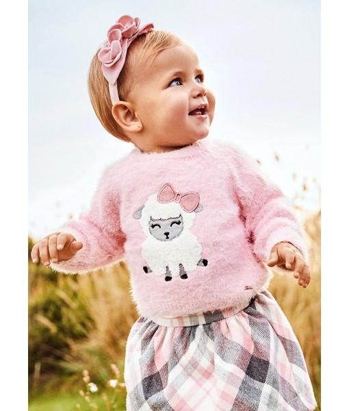 Πουλόβερ ζέρσεϊ Mayoral baby κορίτσι 11-02384-010