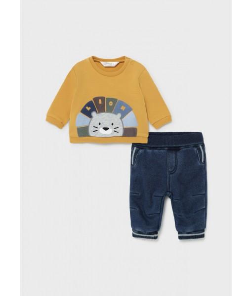 Σετ παντελόνι μακρύ τζιν Mayoral baby αγόρι 11-02525-015