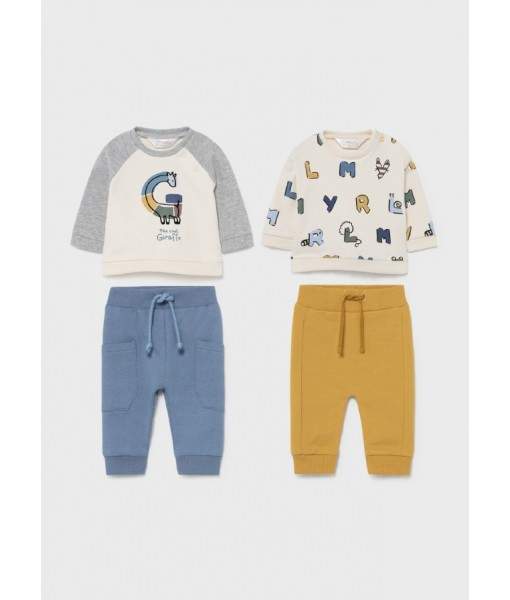 Σετ μακό ECOFRIENDS νεογέννητο αγόρι Mayoral 11-02602-019