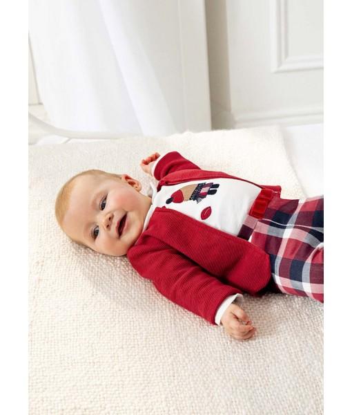 Σετ κολάν ECOFRIENDS 3 τεμάχια  Mayoral baby κορίτσι 11-02702-084