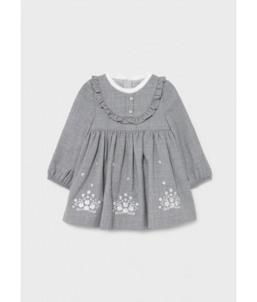 Φόρεμα κεντητό Mayoral baby κορίτσι 11-02907-032