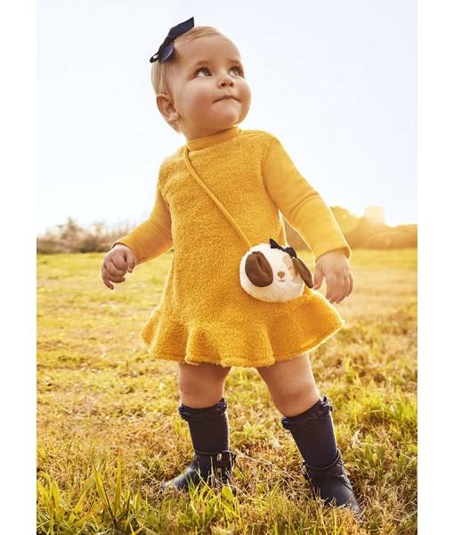 Φόρεμα με τσαντάκι Mayoral baby κορίτσι 11-02921-073