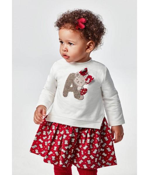 Φόρεμα Mayoral baby κορίτσι 11-02925-041