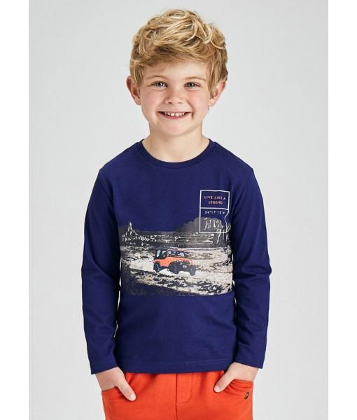Μπλούζα ECOFRIENDS μακρυμάνικη Mayoral mini αγόρι 11-04079-022