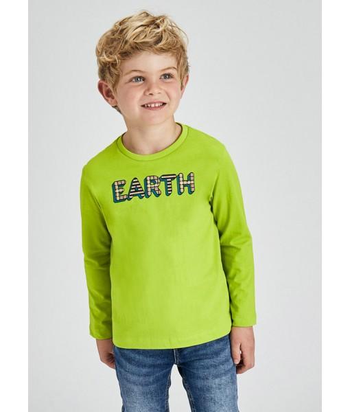 Σετ 2 μπλούζες ECOFRIENDS Mayoral mini αγόρι 11-04082-018