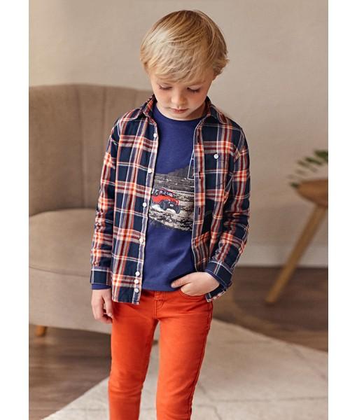 Παντελόνι μακρύ soft slim Mayoral mini αγόρι 11-04559-046