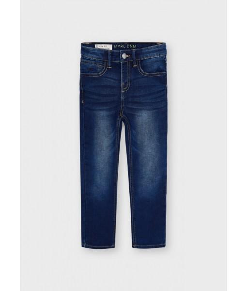 Παντελόνι μακρύ τζιν soft denim Ecofriends Mayoral mini αγόρι 11-04562-090