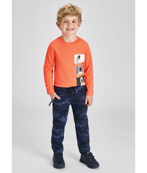 Παντελόνι μακρύ σταμπωτό Mayoral mini αγόρι 11-04570-068