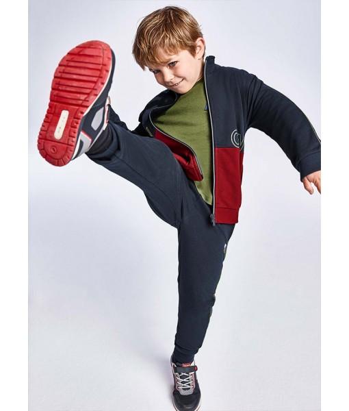 Σετ ζακέτα και 2 παντελόνια φόρμες Mayoral αγόρι 11-04829-059