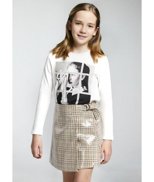 Φούστα καρό junior κορίτσι 11-07902-006