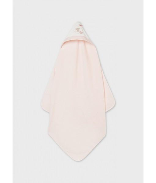 Πετσέτα νεογέννητο 90cm x 90cm Mayoral κορίτσι 11-09065-089