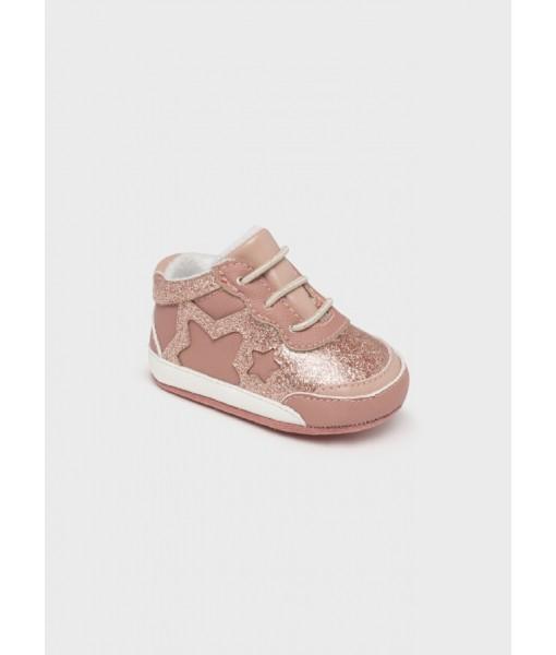 Παπούτσια αγκαλιάς σπορ νεογέννητο κορίτσι Mayoral 11-09458-081