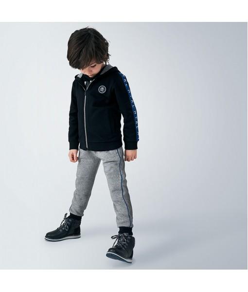 Σετ φούτερ ζακέτα και 2 παντελόνια φόρμες Mayoral αγόρι 10-00043-084