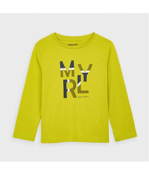 Μπλούζα μακρυμάνικη βασική Mayoral αγόρι 10-00173-047