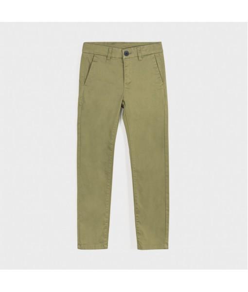 Παντελόνι λοξότσεπο slim fit βασικό αγόρι 10-00530-037